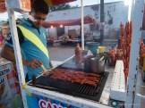 Crevettes grillées délicieuses