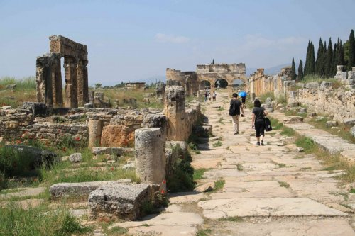 Ruines de Hiérapolis