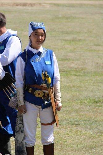 Archère kazakh