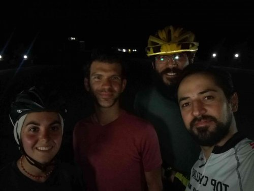 Avec Hani et Turajh à Mashhad
