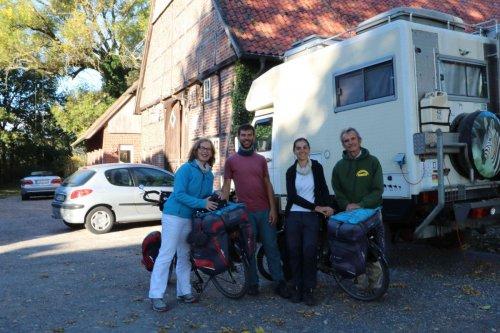 Avec Marianne et Uli