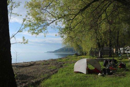 Bivouac au lac Sevan
