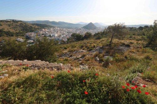 Bivouac sur les hauteurs de Salamina