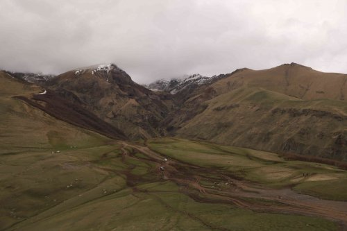 Le massif du Kazbeg