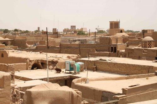 Toits de Yazd