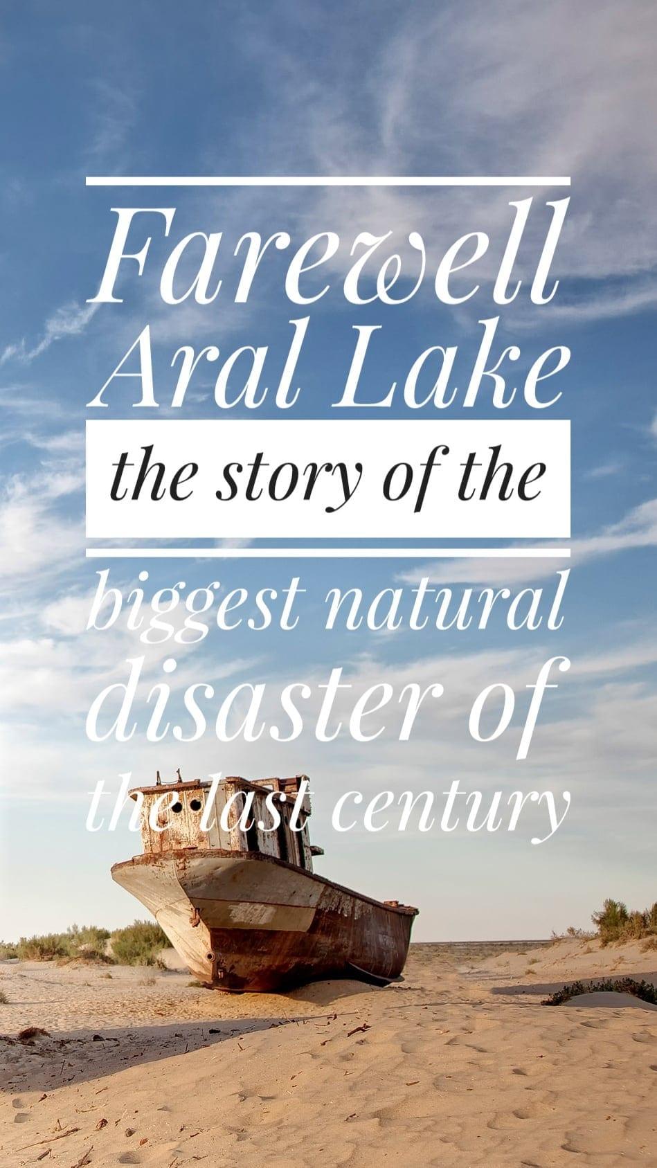 Aral Sea disaster