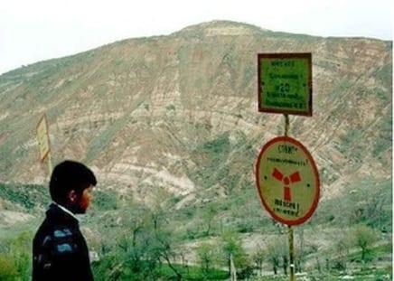 abandoned uranium mines of Mailuu-Suu