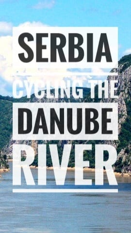 bicycle touring serbia danube