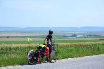 bicycle touring bulgaria