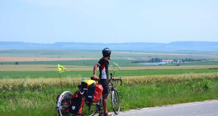 bicycle touring bulgaria