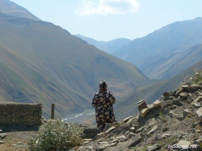 Kinalug panorama mountain Azerbaijan
