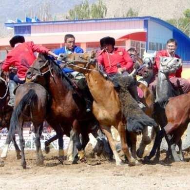Kok Boru at World Nomad Games - Kyrgyzstan