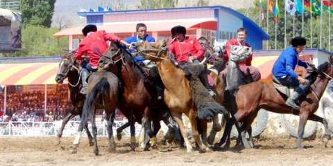 Kok Boru at World Nomad Games - Kyrgyzstan