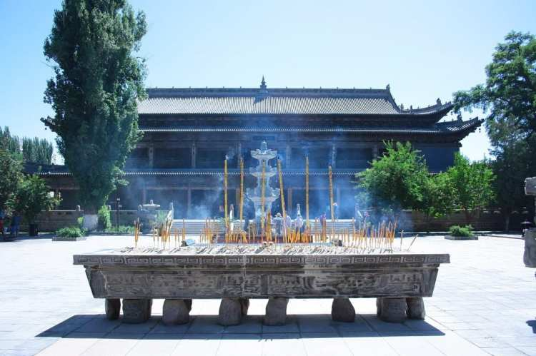Giant Buddha Temple, Gansu