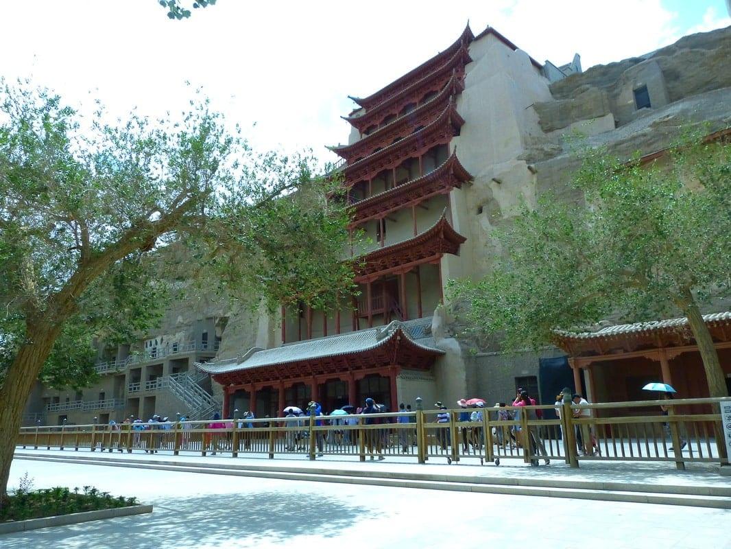 Mogao caves giant buddha