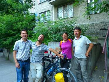 cicloturismo Almaty