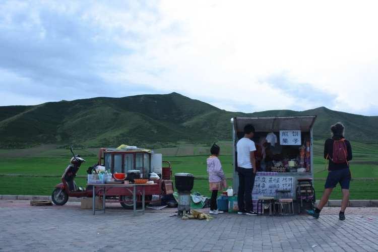 Tibetani, Qinghai, Cina, cibo