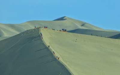 Dunhuang Sand Dunes China