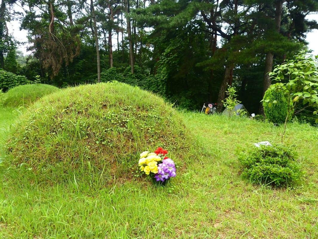 Korean burial mound
