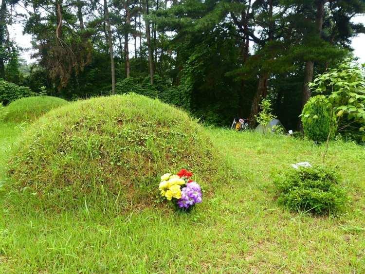 Corea cimitero tumulo