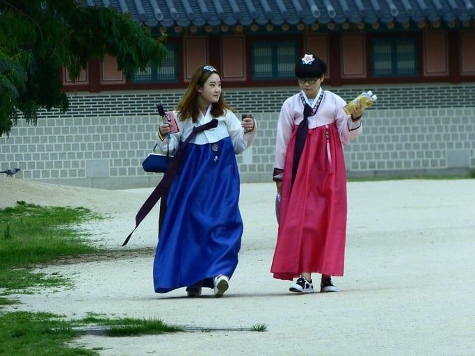 Gyeongbokgung palace Seul