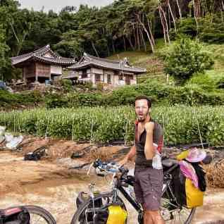 cycling south korea