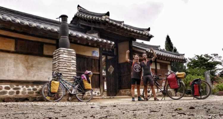 bicycle touring korea