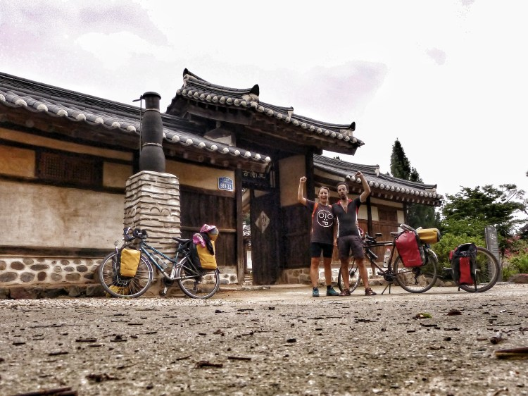 bicycle touring korea