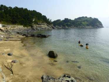 Sindeok best beach Yeosu