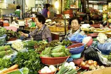 Bujeon market Busan