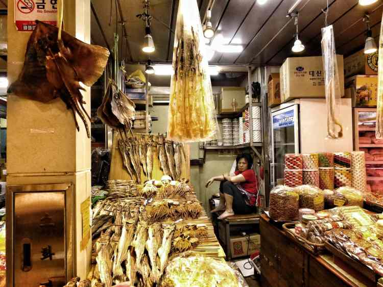 dry fish Bujeon market