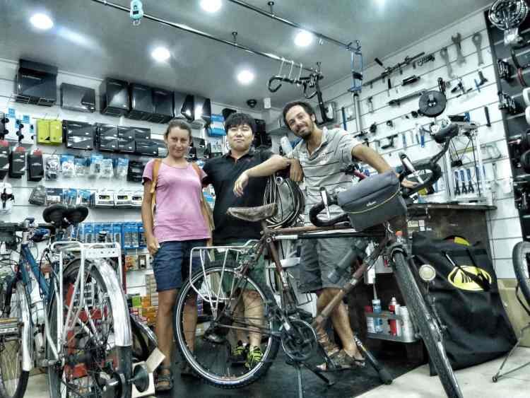 bike shop mechanic busan