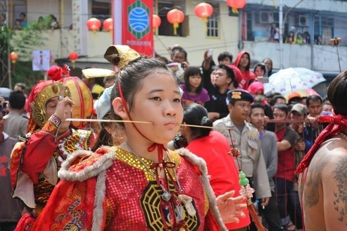 Chap Go Mei Borneo Indonesia