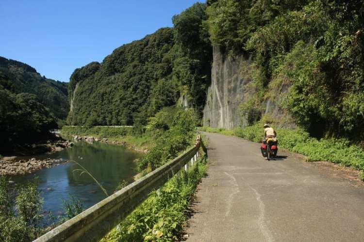 cycling Kyushu Japan