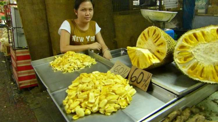 frutta mercato Filippine, Manila