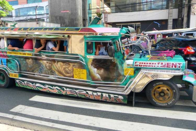 trasporto pubblico viaggio Filippine