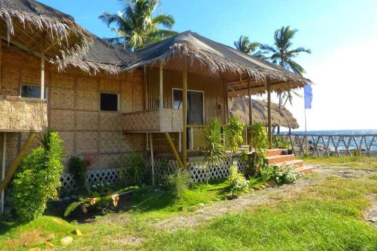 Hotel spiaggia Filippine Negros