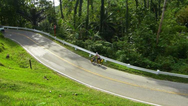 cicloturismo Loboc Bohol Filippine