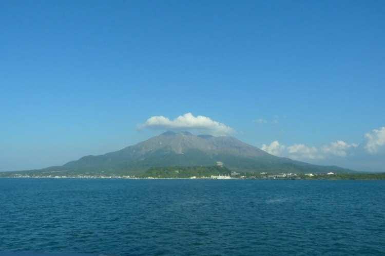 Sakurajima Kagoshima Kinko Bay