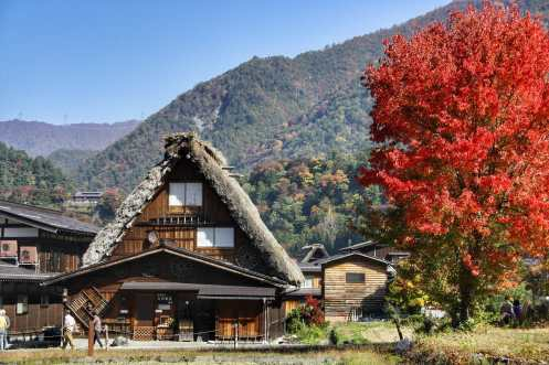 Autumn in Shirakawa