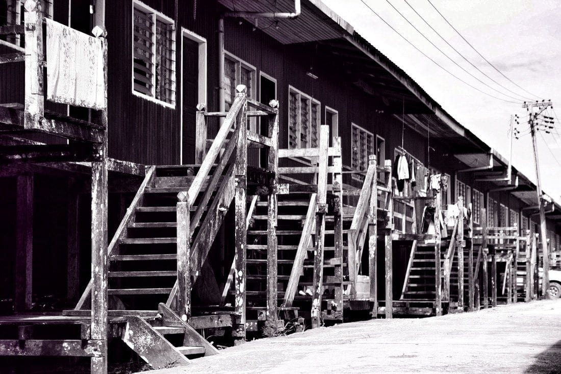 Iban Longhouse Niah Sarawak Borneo