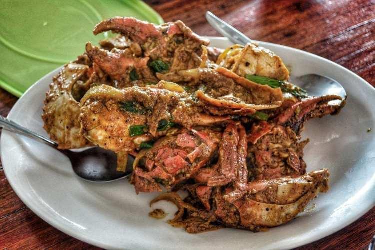 cibo indonesiano Borneo