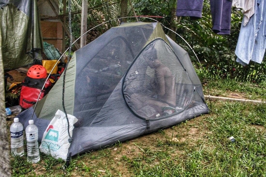 camping borneo