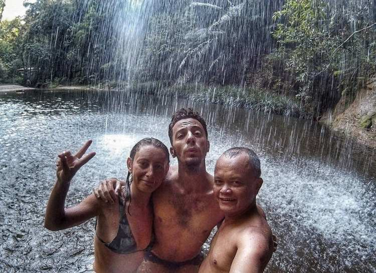 parco nazionale Lambir Hill cascata