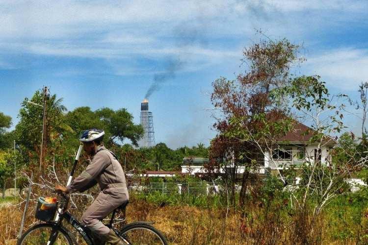 cicloturismo Brunei piattaforme