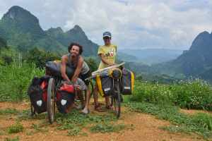 Bicycle touring world by bike