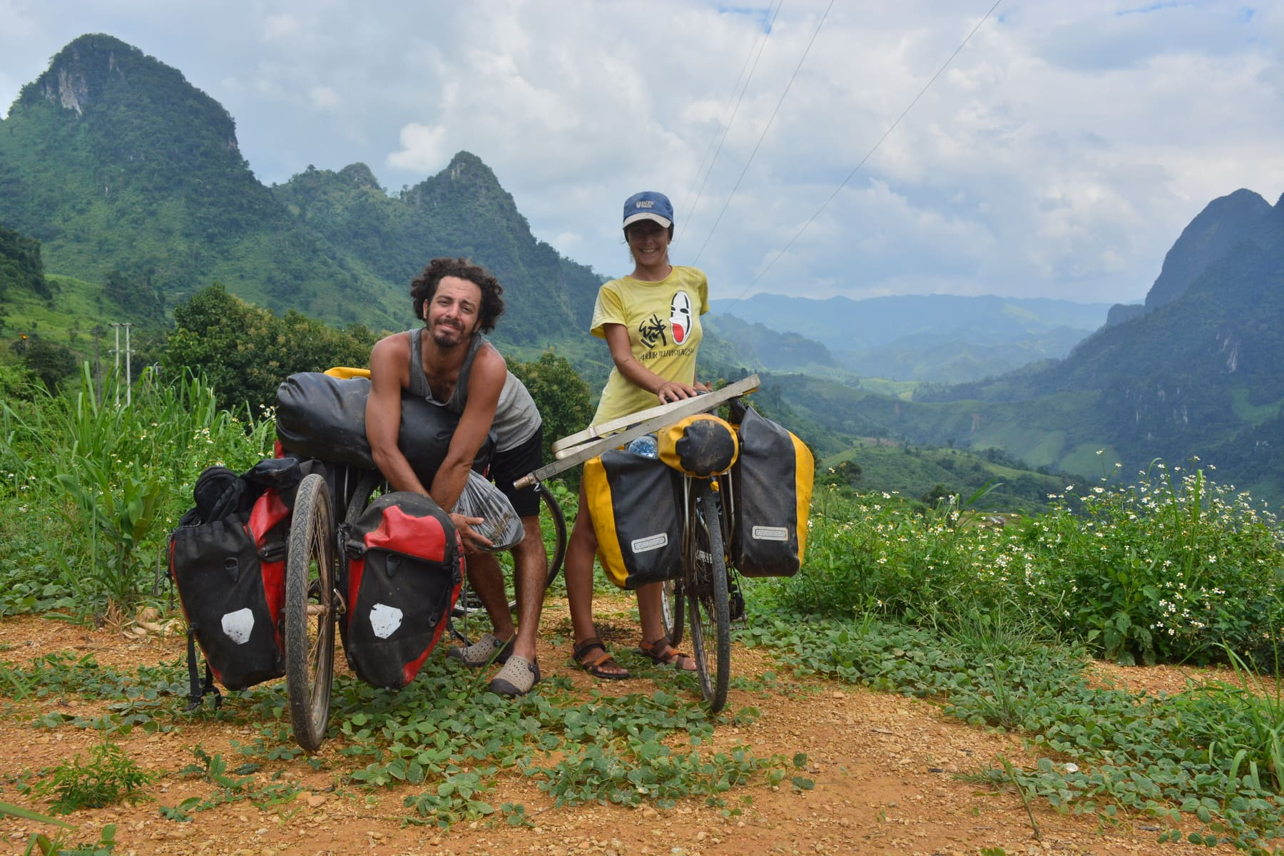 Cycloscope bicycle touring in Laos, South East Asia