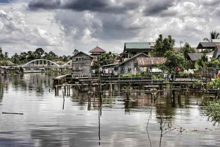 the water city of borneo