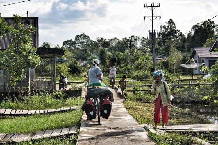 Bicycle Touring Sambas