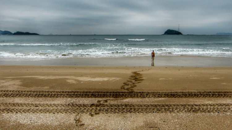 best beach island south korea